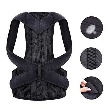 2d28e440f4 Back Posture Corrector Shoulder Lumbar Brace Spine Support Belt Adjustable  Adult Corset Posture Correction Belt Body