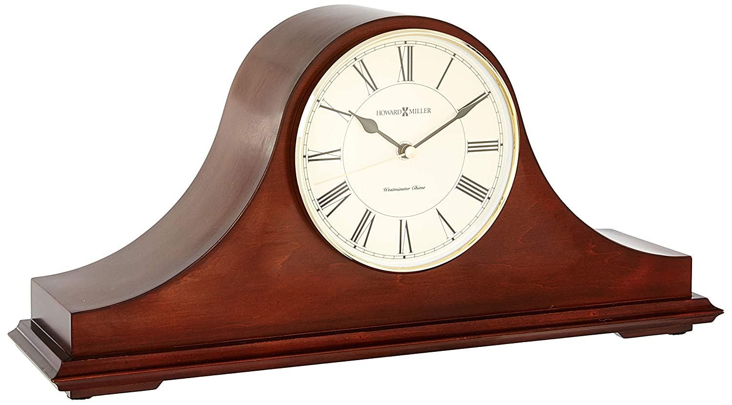 Howard Miller 635-101 Christopher Mantel Clock by Howard Miller: Amazon.es: Hogar