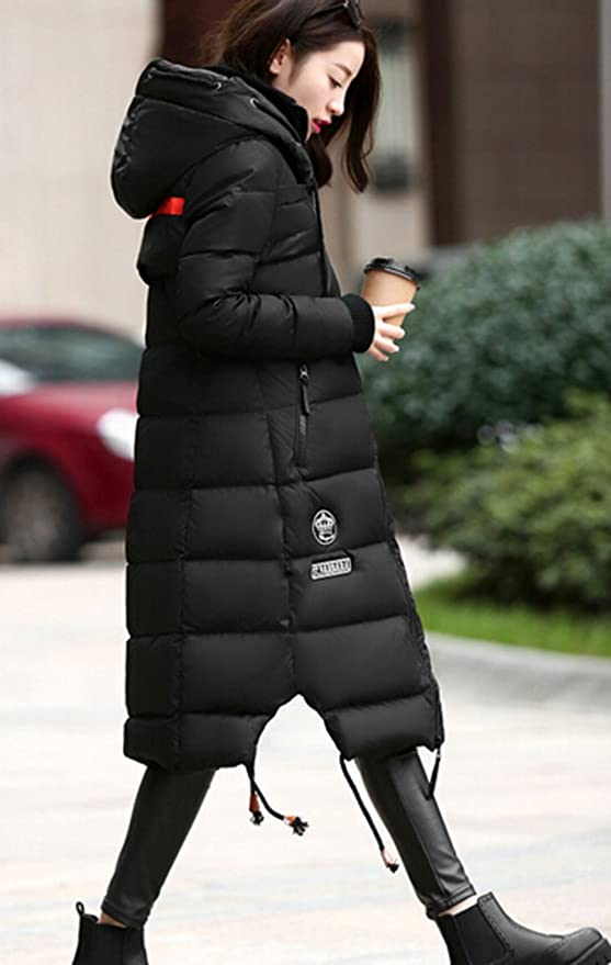 XXBlosom Men Casual Fleece Lined Thick Toggle Faux Fur Hooded Parka Jackets Coat