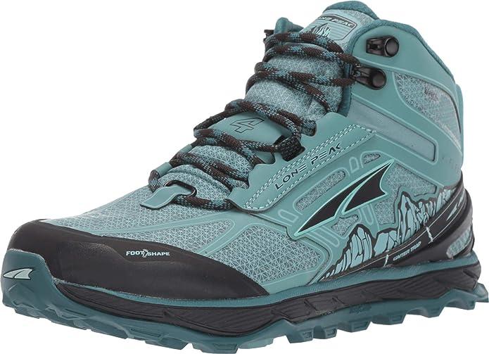 ALTRA Lone Peak 4 Mid RSM - Zapatillas de correr impermeables para mujer: Amazon.es: Zapatos y complementos