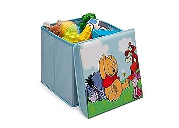 Disney Winnie Pooh Spielzeugkiste + Hocker Aufbewahrungsbox mit ...