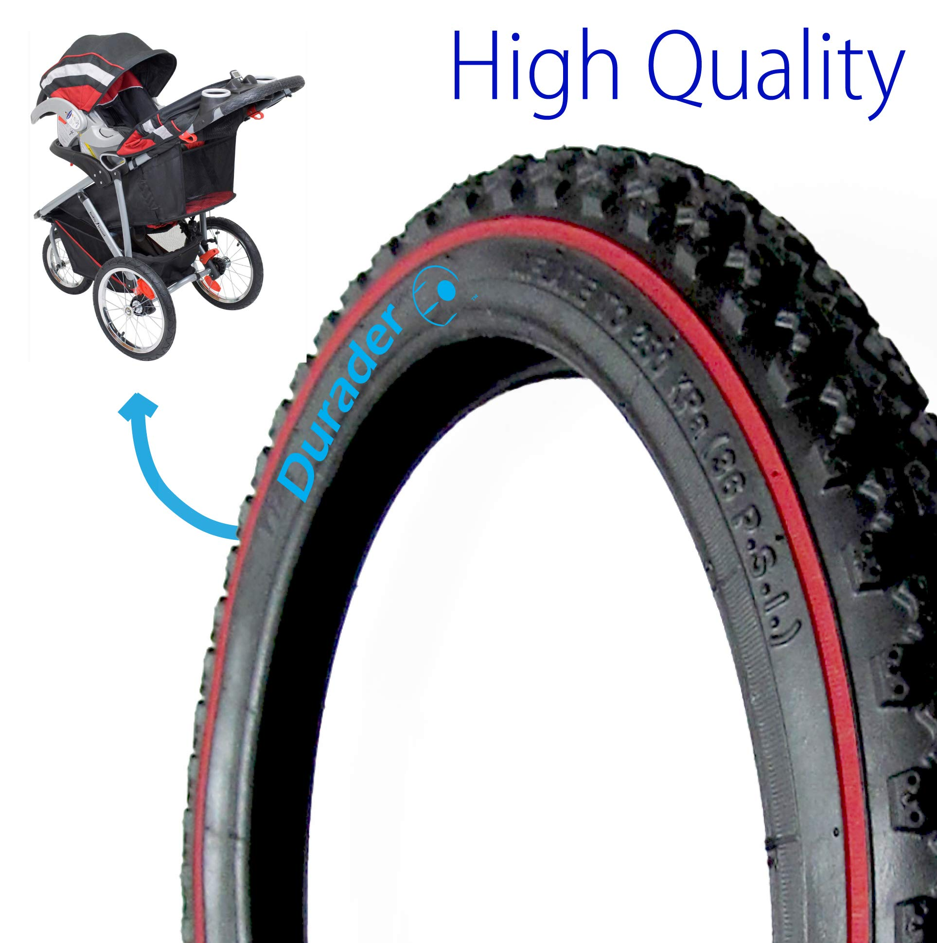 Rear tire for Baby Trend Stroller by Lineament (Image #1)
