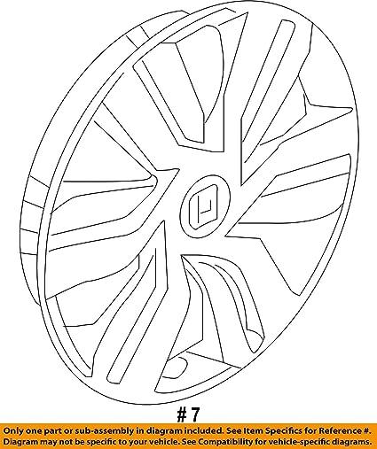 Amazon Com Honda Genuine 44733 T5r A01 Wheel Trim Automotive