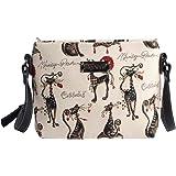 Bolso tapiz de hombro de moda Signare para mujer bolso de mano en bandolera bolso messenger animal