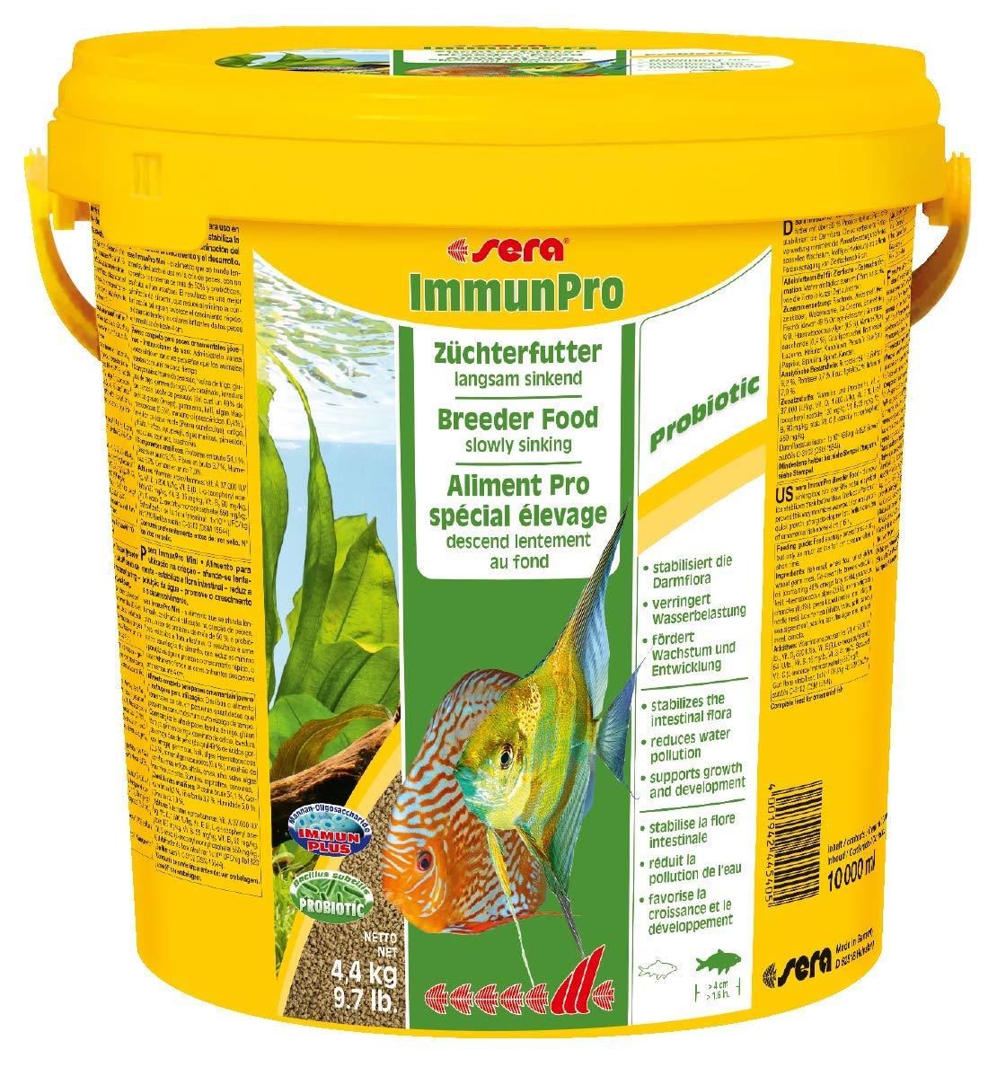 Sera Immun Pro Freshwater Fish Food, 9.7 lb/4/Large by Sera