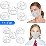 Reusable 3D Face Mask Bracket, Face Mask Accessories Face Covering Inner Support Frame Mask Bracket Internal Support…