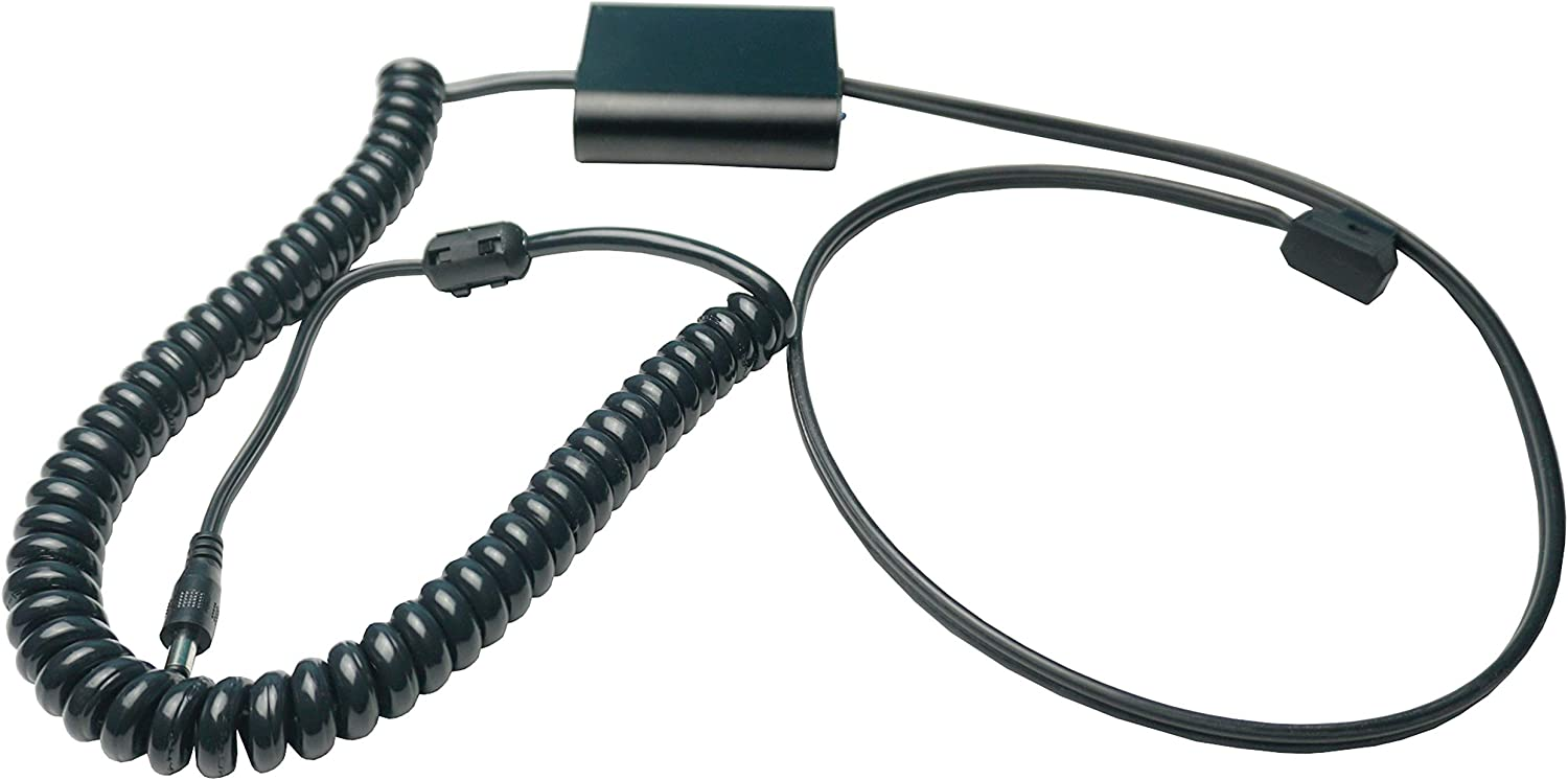 IndiPro CDTKOS2 Coiled D-Tap Regulation Cable Compatible with Kandao Obsidian R//S 6 and 8 Foot Cords
