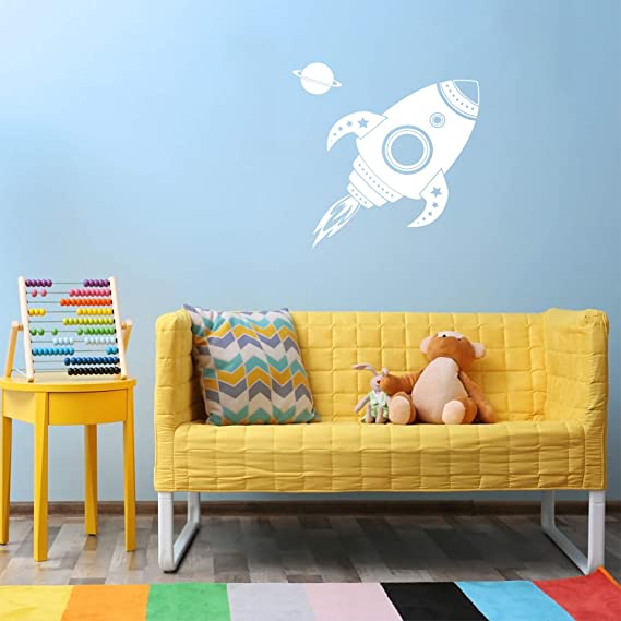 "Little einsteins spaceship birthday wall decal decor cut out 10/"" inch"