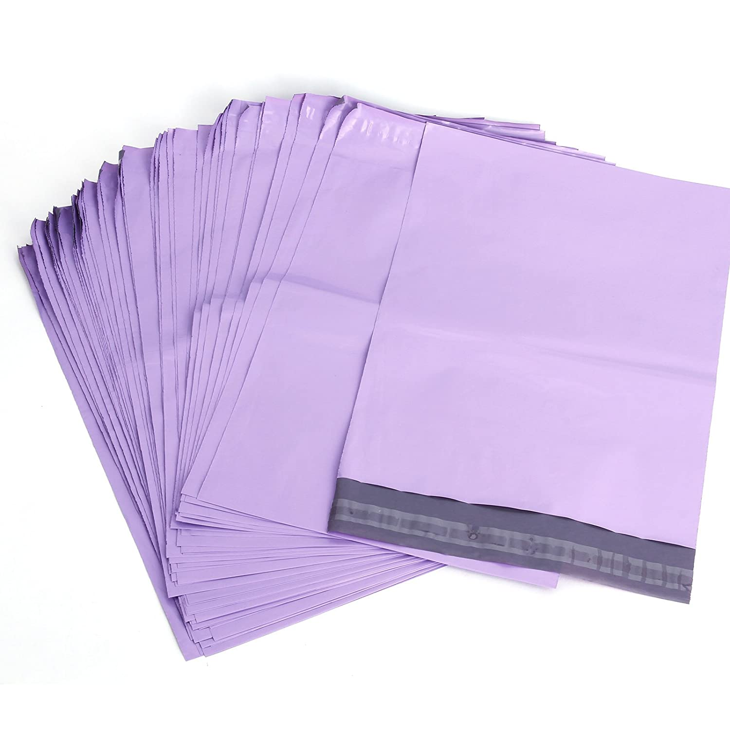 50 Mailing Postal Bags Purple Strong Plastic Polythene Self Seal Packing Packaging Postage Mail Sacks Envelopes Mailers