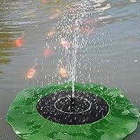 Climberty Pond Garden Fish Tank Pool Water Pump Floating Solar Fountain Power Panel