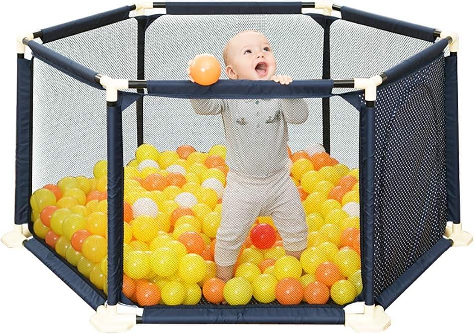 赤ちゃん遊びフェンス子供フェンス子供赤ちゃん幼児フェンス200海洋ボール (色 : A)
