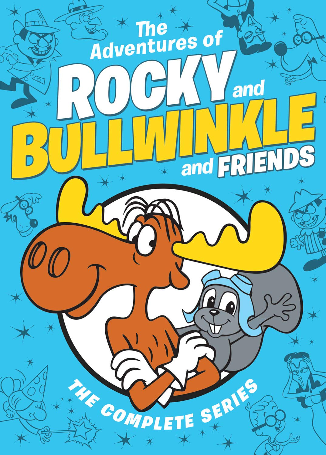 Amazoncom The Adventures Of Rocky And Bullwinkle And