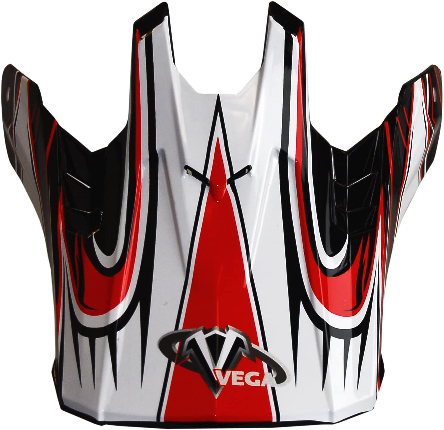 Vega NBX-Pro Off-Road Helmet Visor with  Scorch Graphic Yellow, Size Adult