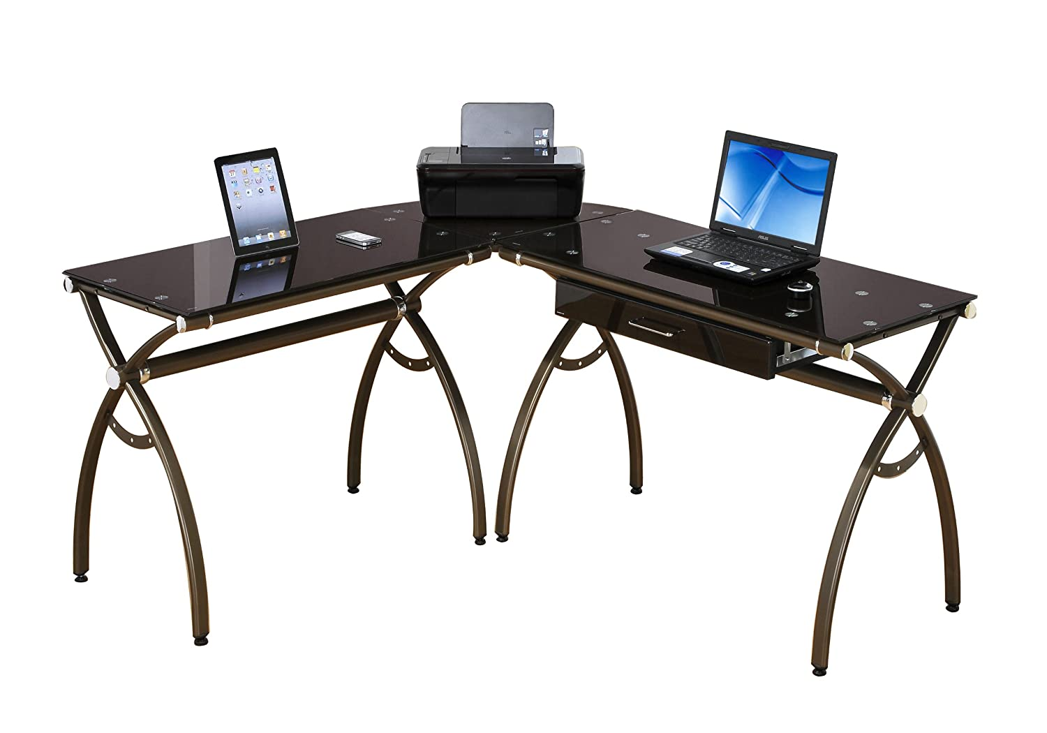 techni master itm three ebay with mobili drawers desk classy computer