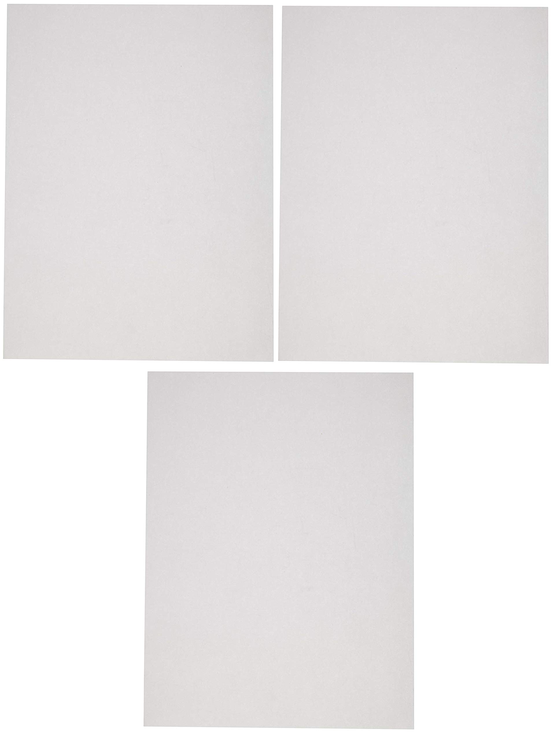 Sax Sulphite Drawing Paper, 60 lbs, 9 x 12 Inches, Extra-White, Pack of 500 (Тhrее Расk)
