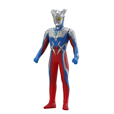 BANDAI Ultraman Superheroes Ultra Hero 500 Series #21: Ultraman Zero: Toys & Games