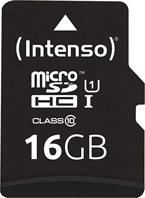 Intenso 3423470 - Tarjeta Memoria Micro SD de 16 GB, Color Negro ...