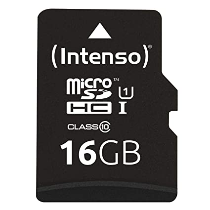 Intenso 3423470 - Tarjeta Memoria Micro SD de 16 GB, Color ...