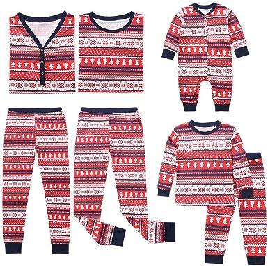 Meijunter Conjunto de Pijamas Familiares de Navidad - Moda ...