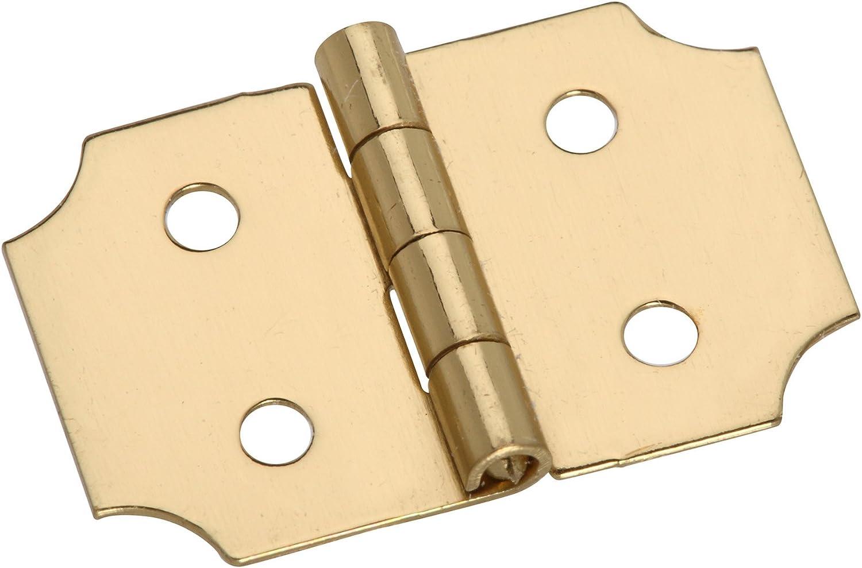 Stanley Hardware 80-3350 Solid Brass Ornamental Hinge