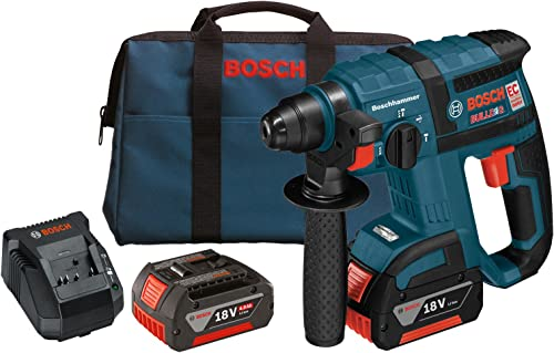 Bosch RHH181-01 18-Volt Lithium-Ion Brushless 3 4-Inch SDS-plus Rotary Hammer