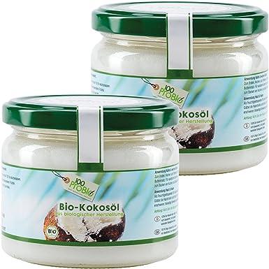 100probio kokosöl Nativo de 100% puro aceite de coco de kaltgepresst & natural