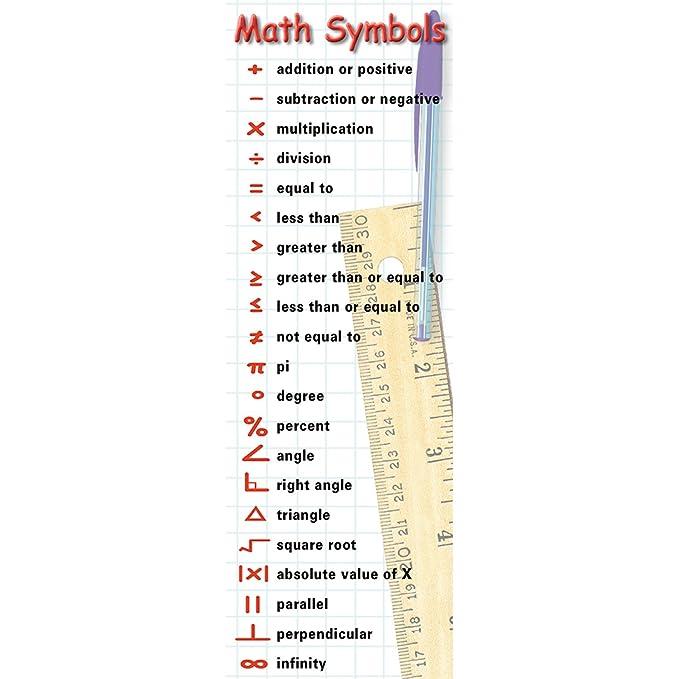 Amazon Mcdonald Publishing Math Symbols Behaviors Smart