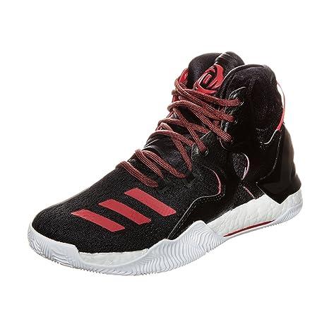 adidas Derrick Rose 7 Zapatillas de baloncesto para niños, negro y ...