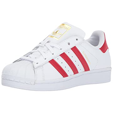 adidas superstar red stripe