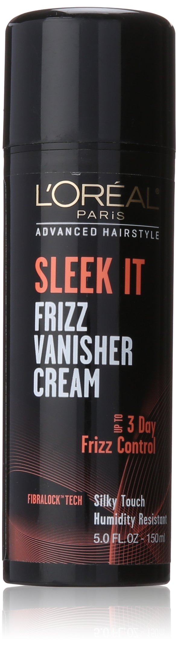 L'Oréal Paris Advanced Hairstyle SLEEK IT Frizz Vanisher Cream, 5 fl. oz. (Packaging May Vary)