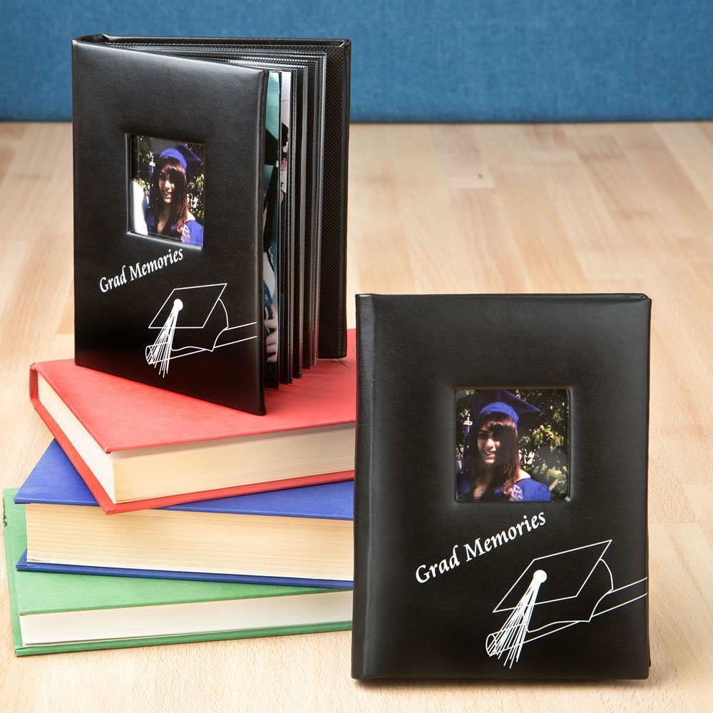 Graduation themed photo albums - 35 count