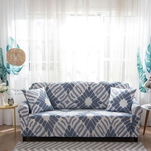 Sofa Slipcover Stretch Elastic Fabric Flower Bird Pattern Chair