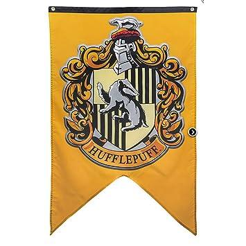 Soviton Banderas de pared de la casa Hogwarts Banderines de la casa