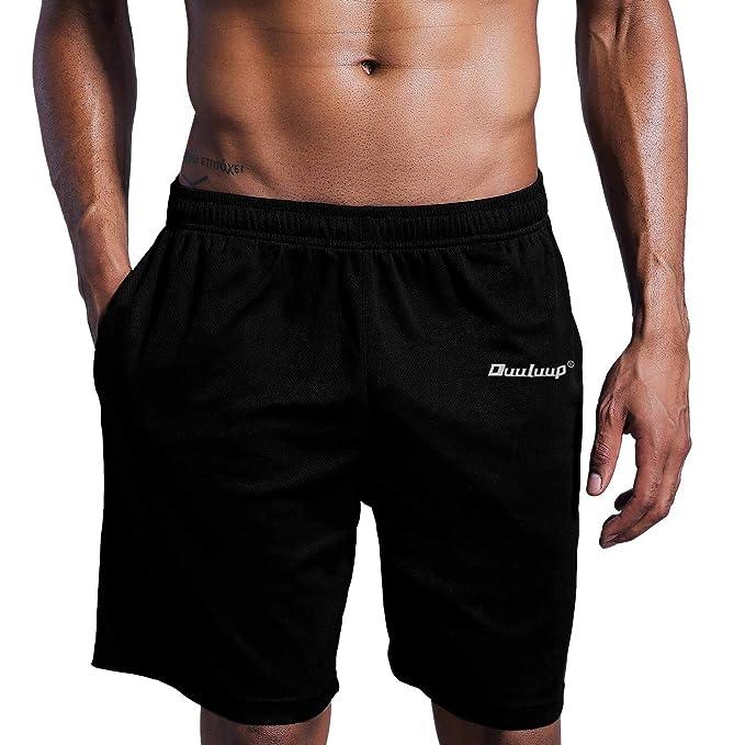 Neleus Mens 7 Mesh Running Workout Shorts