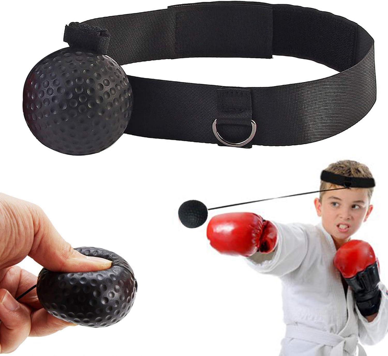 Boxaball Reflex Boxing Ball Fight Training Speed Video Impara le abilit/à di base delle arti marziali i riflessi e l/'abilit/à Livelli di migliora la velocit/à del Tempo di Reazione,la Forma Fisica