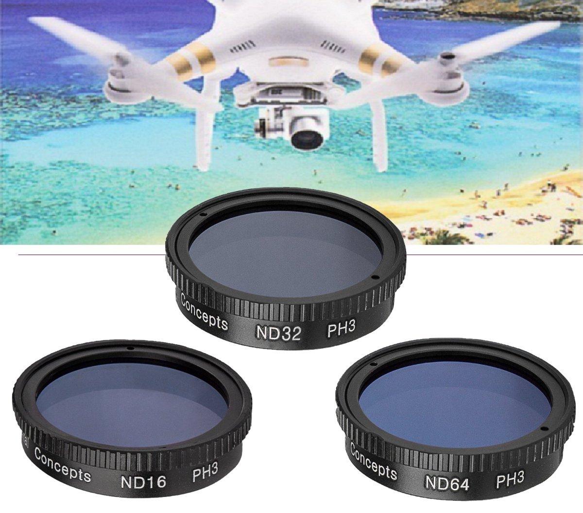 Фильтр nd64 к дрону фантом защита камеры мягкая dji насколько надежна?