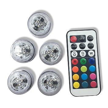 amazon com qicai h flameless led tea lights multi color option