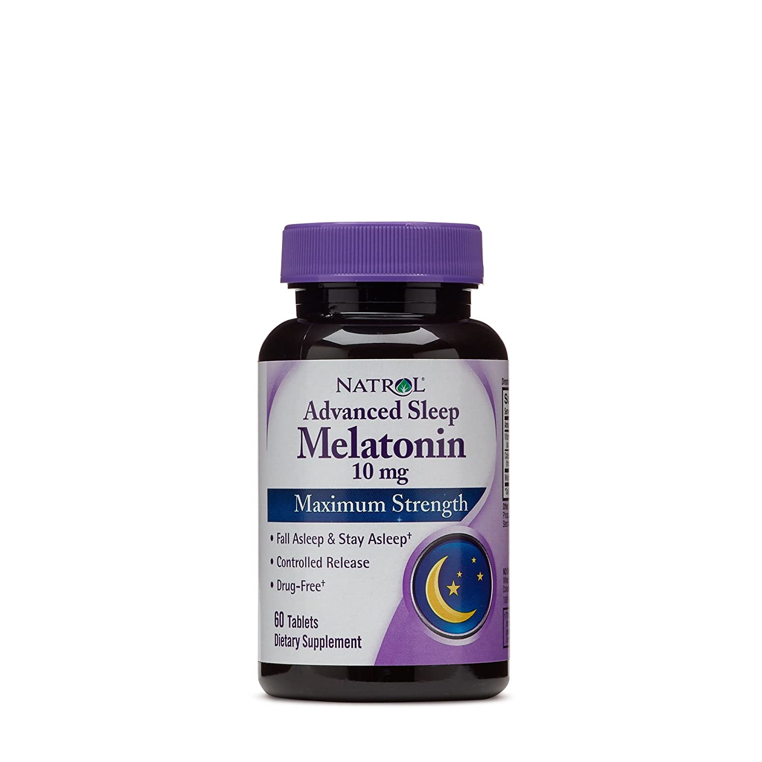Amazon.com: Natrol Melatonin Sleep Maximum Strength fast dissolve Strawberry flavor 10 mg 60 Tablets (Pack of 2): Health & Personal Care