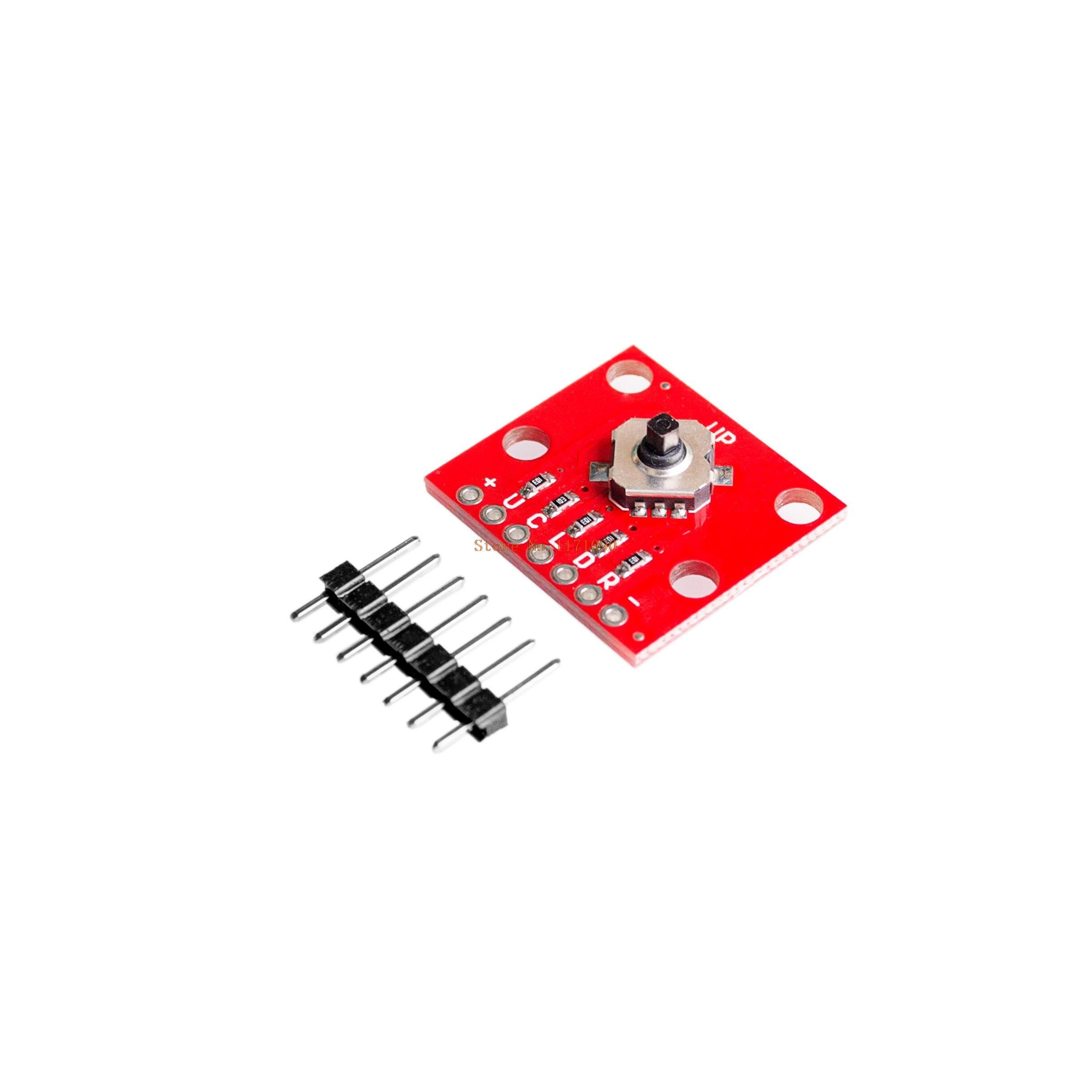 LIGHTHINKING 5pcs/lot 5-Way Tactile Switch Breakout Dev Module Converter Board for Arduino