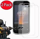 2 Pack - Nokia 1 Tempered Glass, FoneExpert
