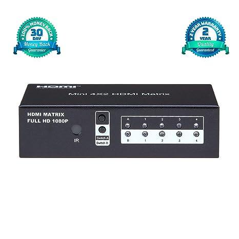 amazon com brightlink matrix switcher audio video distribution rh amazon com