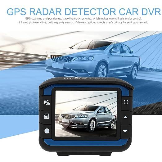 Dailyinshop - Detector de Radar de Coche DVR 2 en 1 Grabador ...