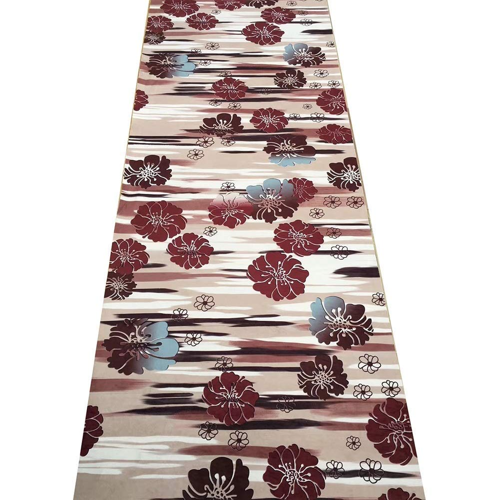 Mbd Eco-Friendly Cut Carpet Corridor Restaurant Anti-Slip Stair Mat Full Shop Can Be Customized, Soft (Color : A, Size : 17m)