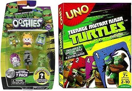 Amazon.com: Mini Heroes Cards & TMNT Characters Uno Bundled ...