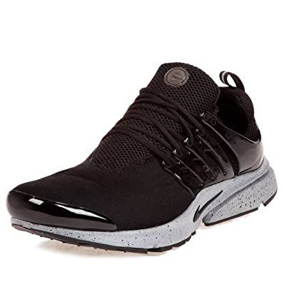 47f0c0d6a1e9 Nike Mens Air Presto SP Genealogy Pack Black Black-Cement Grey Fabric  Running