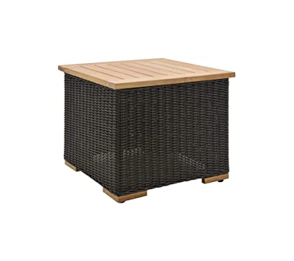 La-Z-Boy Outdoor New Boston Resin Wicker Patio Furniture Side Table - Amazon.com: La-Z-Boy Outdoor New Boston Resin Wicker Patio Furniture