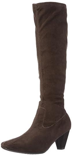 97488eb07c0b Marco Tozzi Damen 25556 Langschaft Stiefel, Braun (Pepper 324), 37 EU   Amazon.de  Schuhe   Handtaschen