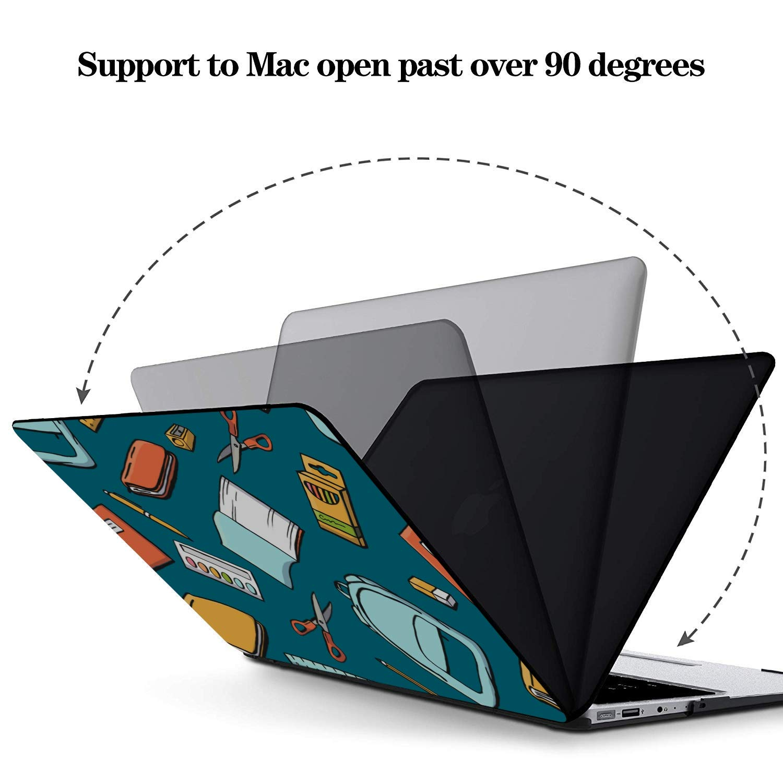 MacBook Air 2018 Case School Supplies Pencil Sharpener Plastic Hard Shell Compatible Mac Air 11 Pro 13 15 MacBook 2017 Case Protection for MacBook 2016-2019 Version