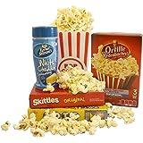 Sweet Treats Movie Night Popcorn & Candy Gift Set