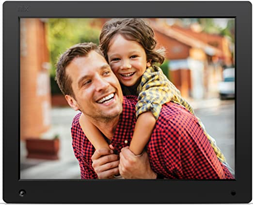 72 opinioni per NIX Advance- Cornice digitale da 15 pollici per foto e video HD (720p) con